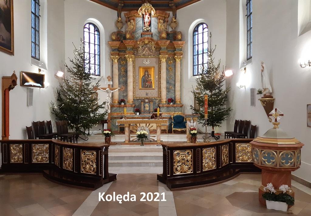 Kolęda 2021 - Msze św.